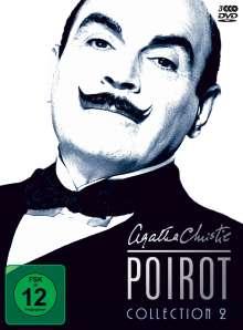 Agatha Christie's Hercule Poirot: Die Collection Vol.2, 3 DVDs