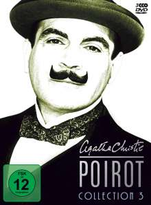 Agatha Christie's Hercule Poirot: Die Collection Vol.3, 3 DVDs