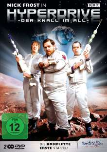 Hyperdrive - Der Knall im All Staffel 1, DVD