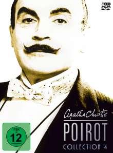 Agatha Christie's Hercule Poirot: Die Collection Vol.4, 3 DVDs