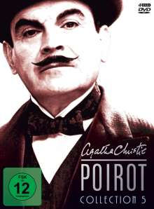Agatha Christie's Hercule Poirot: Die Collection Vol.5, 4 DVDs