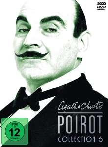 Agatha Christie's Hercule Poirot: Die Collection Vol.6, 4 DVDs