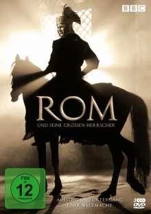 Rom und seine großen Herrscher (Gesamtbox), 3 DVDs