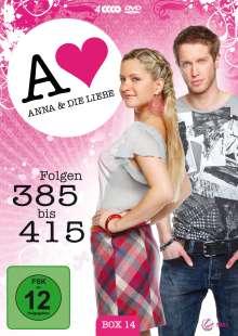 Anna und die Liebe Vol.14, 4 DVDs