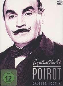 Agatha Christie's Hercule Poirot: Die Collection Vol.7, 4 DVDs