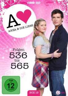 Anna und die Liebe Vol. 19, 4 DVDs