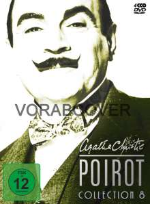 Agatha Christie's Hercule Poirot: Die Collection Vol.8, 4 DVDs