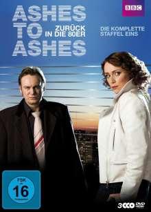 Ashes To Ashes - Zurück in die 80er Staffel 1, 4 DVDs
