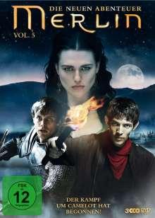 Merlin: Die neuen Abenteuer Season 3 Box 1 (Vol.5), 3 DVDs