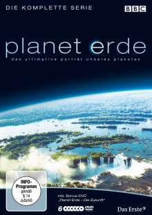 Planet Erde (Komplette Serie - Softbox), 6 DVDs