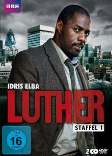 Luther Season 1, 2 DVDs