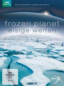 Frozen Planet - Eisige Welten (Gesamtausgabe), 3 DVDs