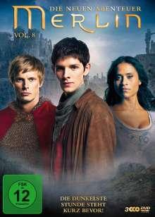 Merlin: Die neuen Abenteuer Season 4 Box 2 (Vol.8), 3 DVDs