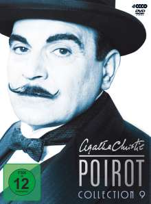 Agatha Christie's Hercule Poirot: Die Collection Vol.9, 4 DVDs
