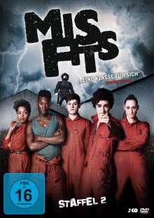 Misfits Staffel 2, 2 DVDs