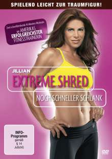 Jillian Michaels:  Extreme Shred - Noch schneller schlank, DVD