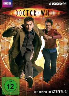 Doctor Who Staffel 3, 6 DVDs