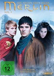 Merlin: Die neuen Abenteuer Season 5 Box 1 (Vol.9), 3 DVDs