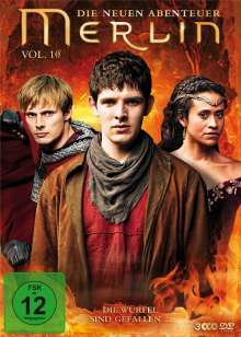 Merlin: Die neuen Abenteuer Season 5 Box 2 (Vol.10), 3 DVDs