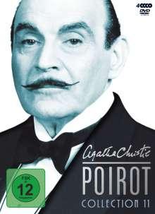 Agatha Christie's Hercule Poirot: Die Collection Vol.11, 4 DVDs