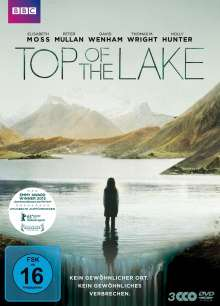 Top Of The Lake, 3 DVDs