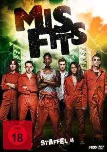 Misfits Staffel 4, 3 DVDs