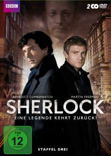Sherlock Staffel 3, 2 DVDs