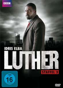 Luther Staffel 3, DVD