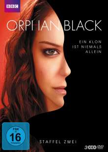 Orphan Black Staffel 2, 3 DVDs