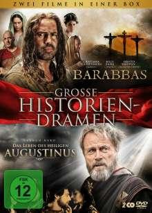 Barabbas / Das Leben des heiligen Augustinus, 2 DVDs