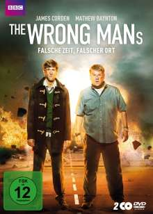 The Wrong Mans, 2 DVDs