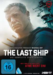 The Last Ship Staffel 1, 3 DVDs