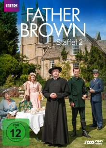 Father Brown Staffel 2, 3 DVDs
