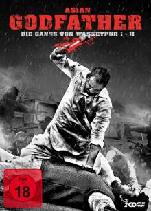 Asian Godfather: Die Gangs von Wasseypur, 2 DVDs