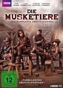 Die Musketiere Staffel 2, 4 DVDs