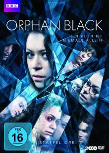 Orphan Black Staffel 3, 3 DVDs