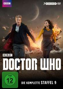 Doctor Who Season 9, 7 DVDs