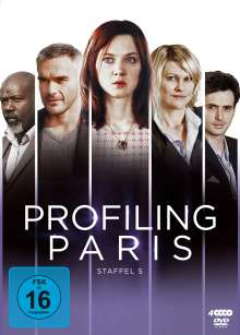 Profiling Paris Staffel 5, 4 DVDs