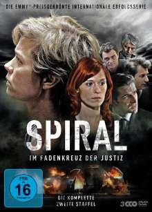 Spiral Staffel 2, 3 DVDs