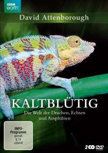 Kaltblütig - Die Welt der Drachen, Echsen und Amphibien, 2 DVDs