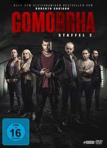 Gomorrha Staffel 2, 4 DVDs
