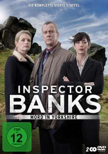 Inspector Banks Staffel 4, 2 DVDs