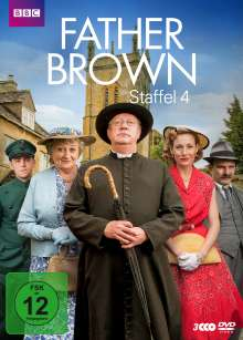 Father Brown Staffel 4, 3 DVDs