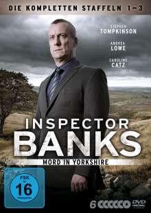 Inspector Banks Staffel 1-3, 6 DVDs