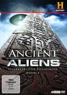 Ancient Aliens - Unerklärliche Phänomene Staffel 5, 3 DVDs