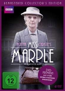 Miss Marple (12 Filme - Komplette Serie), 6 DVDs
