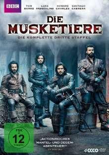 Die Musketiere Staffel 3 (finale Staffel), 4 DVDs