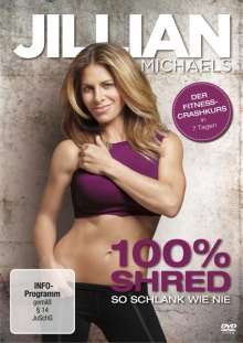 Jillian Michaels: 100% Shred - So schlank wie nie, DVD