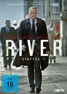 River Season 1, 2 DVDs