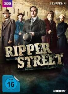 Ripper Street Staffel 4, 3 DVDs